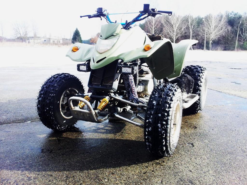 Kymco kxr 250 2004r