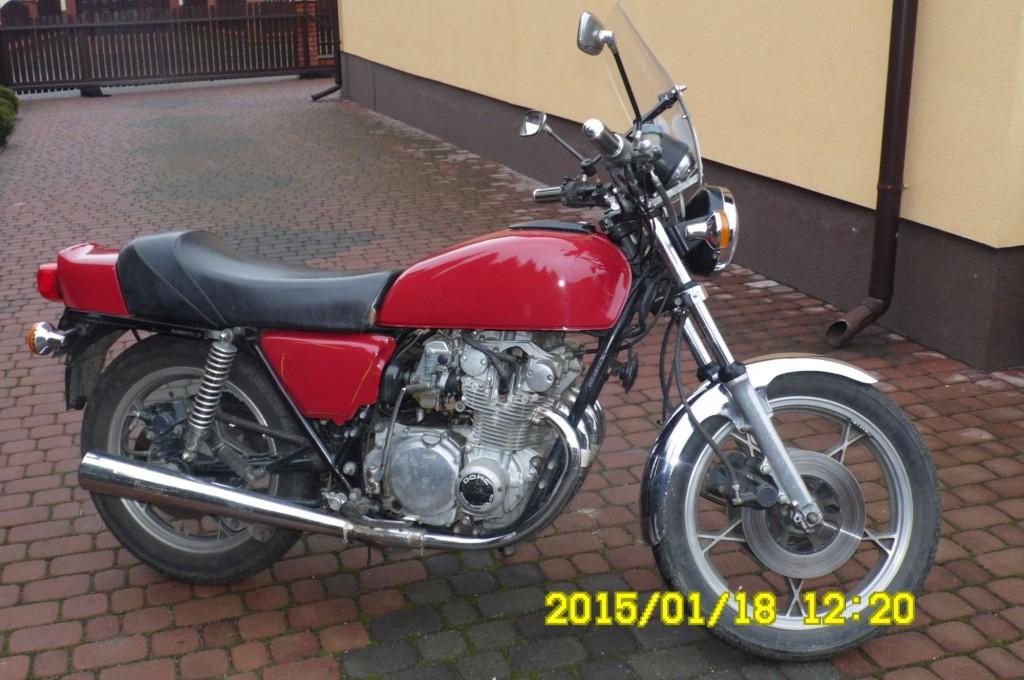 Suzuki GS  550E  1981r
