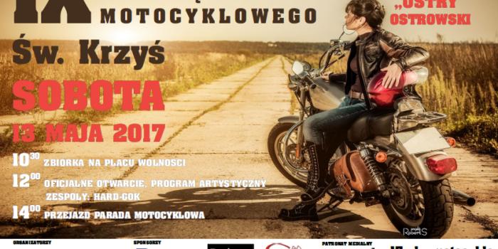 Rozpoczęcie sezonu motocyklowego Św Krzyś 2017